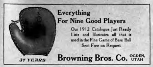 ImprovementEra 1912 Baseball ad