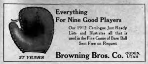 ImprovementEra 1912 Baseball ad