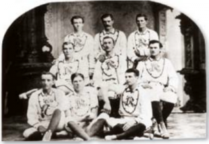 Heber J. Grant and Salt Lake Red Stockings, August 1877