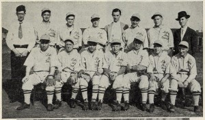 LDS Baseball Team West London League 1935