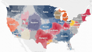 A Map of Baseball Nation