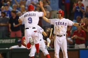 Adam Rosales Texas Rangers